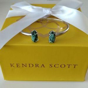Kendra Scott Edie Bracelet In African Turquoise